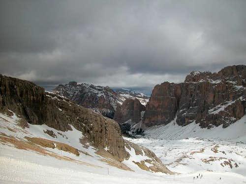 Alpe di Lagazuoi from Piccolo...