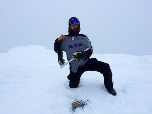 Winter Sunset Ridge Climb, Mt. Mansfield, Vermont, Highpoint #19