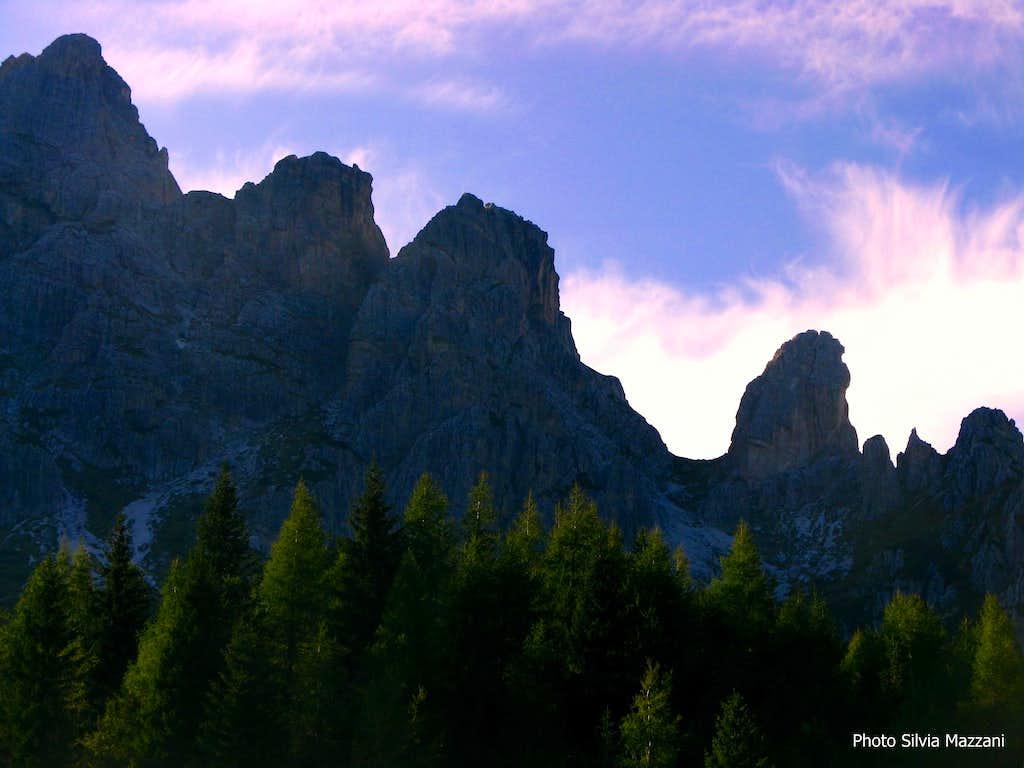 Torre Pian dei Buoi, Marmarole Group
