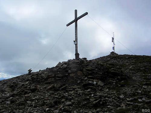 Elferspitz summit cross