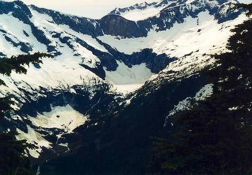 Frozen Azure Lake (4,055 ft)...