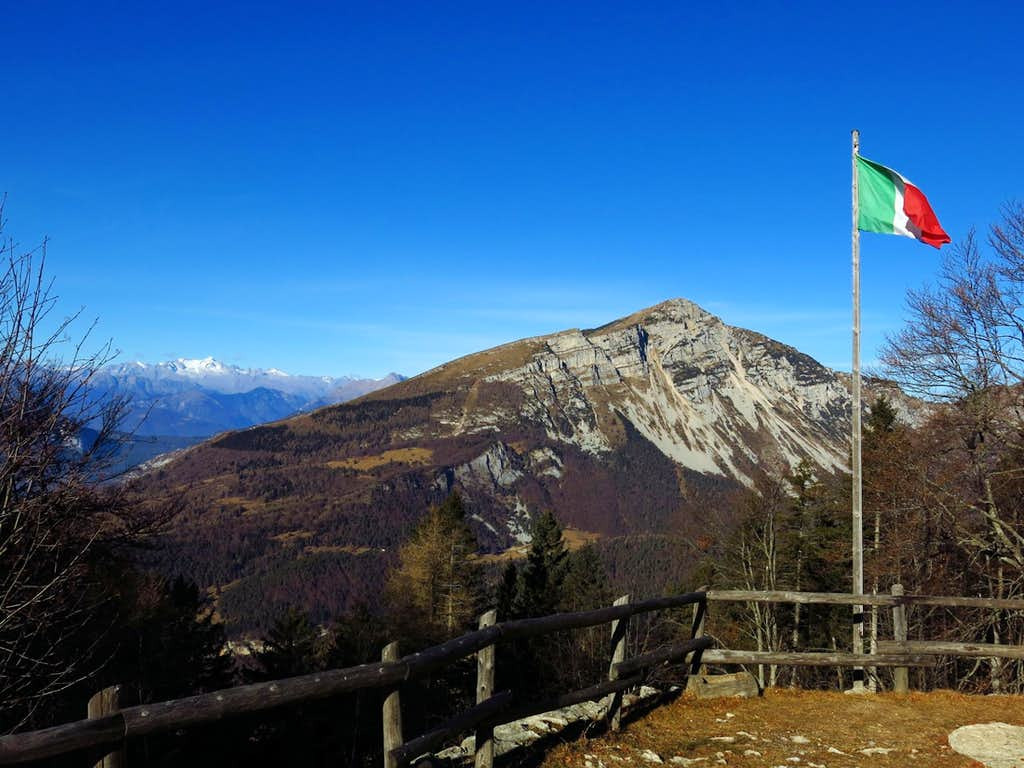 Monte Stivo seen from Capanna M. Biaena