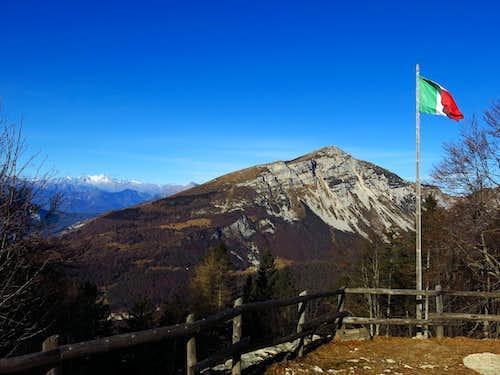 Monte Stivo seen from Capanna M. Biaena