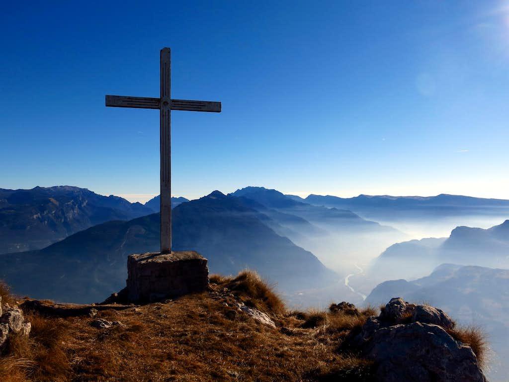 Monte Biaena summit and Val d'Adige