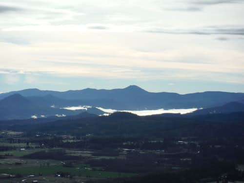 Looking south from Pisgah