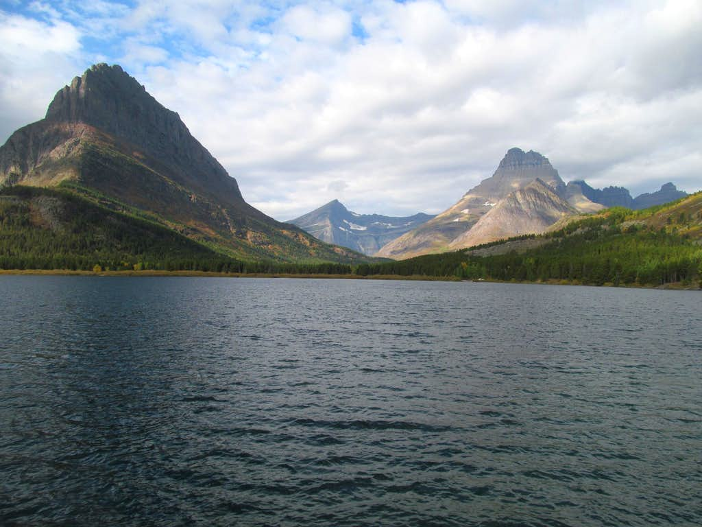 Swiftcurrent Lake Grinnell & Wilbur