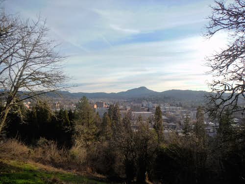 The classic view from Skinner Butte