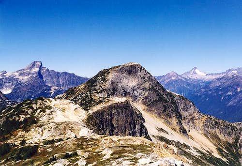 The Stetattle Ridge highpoint...