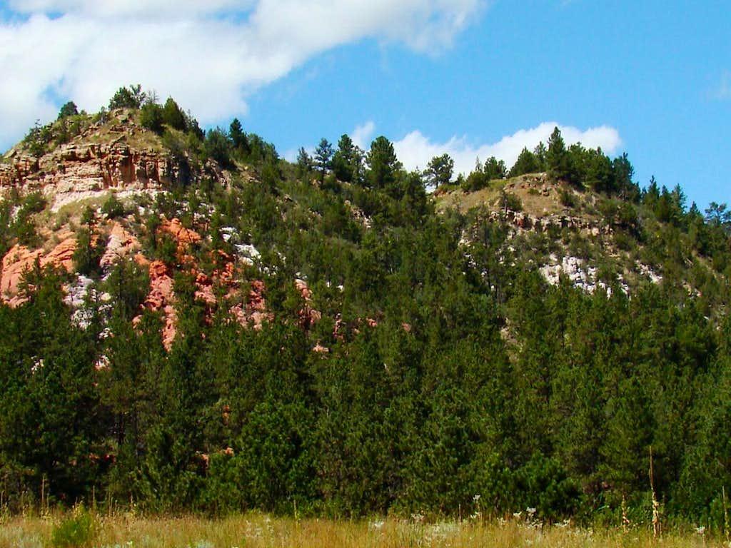 Elm Creek Canyon Rock
