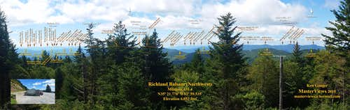 Richland Balsam Overlook (Northwest)
