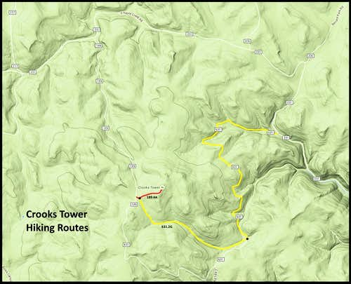Crroks Tower Hiking Routes