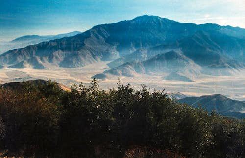 San Jacinto massif from Kitching Peak