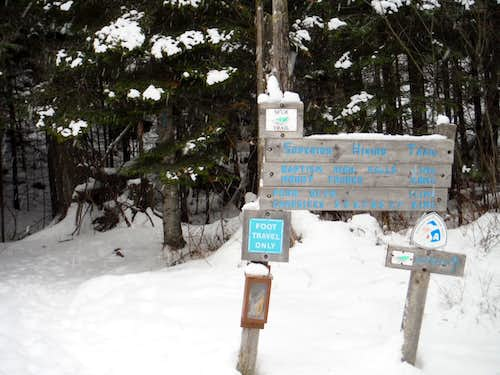 Superior Hiking Trail Head - Route 1