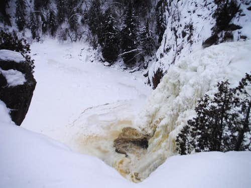 Frozen Baptism - High Falls