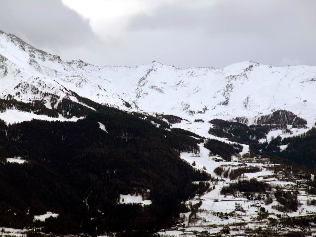 From Pila Resort up to the North Tsa Sètze Hill 2016