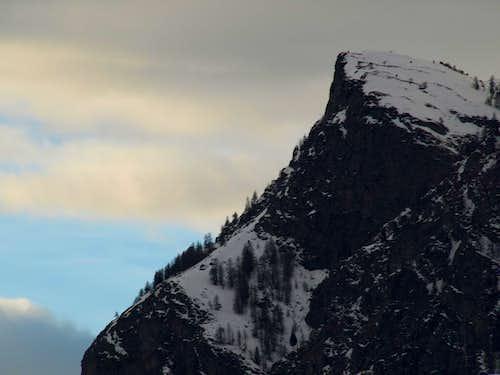 Dark Pointe de Vadaille above Grand'Eyvia Torrent 2016