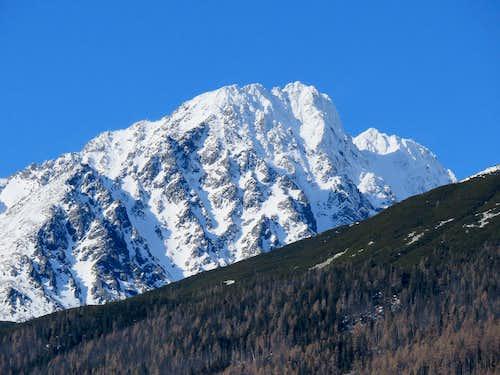 Gerlachovský štít - 2655 m - winter 2016