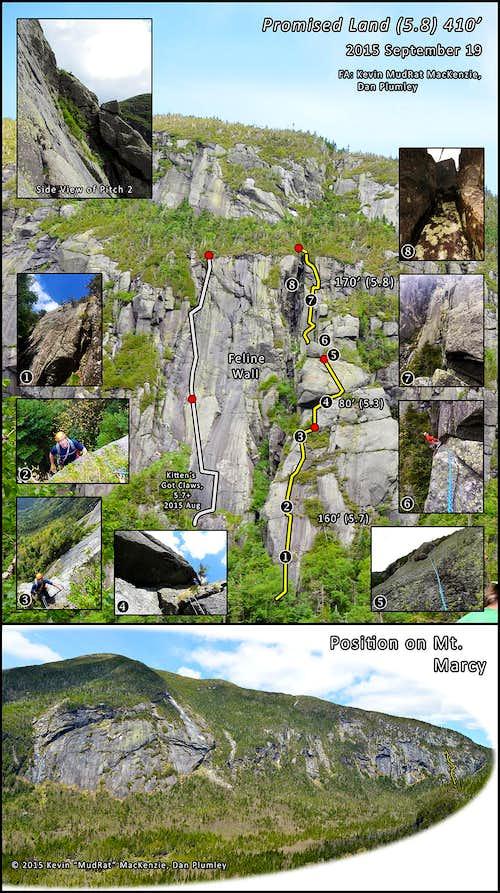 Panther Gorge Rock Climbing - Promised Land