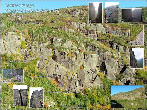 Panther Gorge-Haystack Ramp Wall