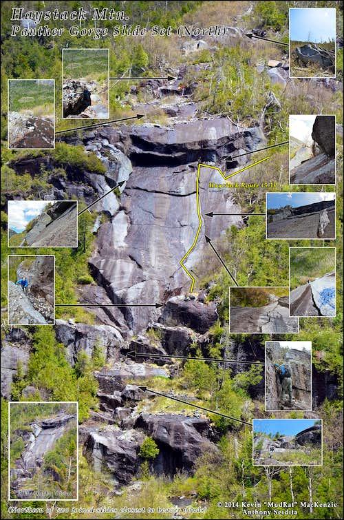 Panther Gorge-Haystack Mt.-Haycrack Route