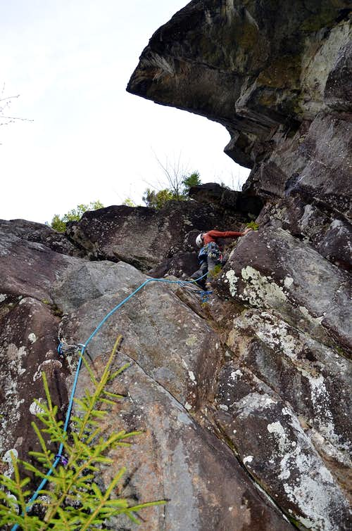 Boquet River Crags-2 New Rock Climbing Routes and a Bushwhack