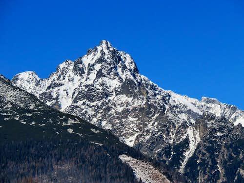 Prostredný hrot - 2441 m, winter 2016
