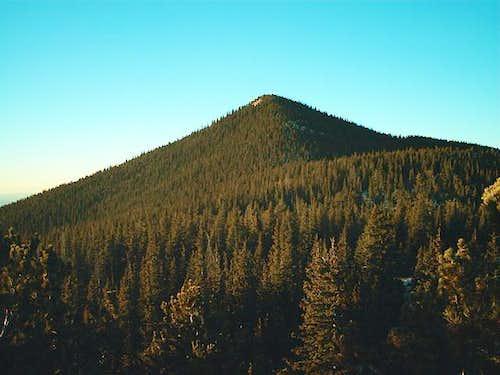 Mount Rosa at sunrise....