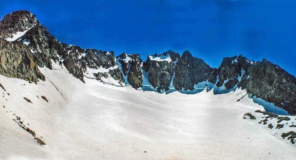 Palisades and Glacier