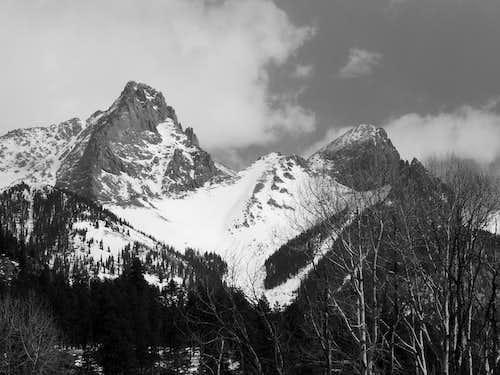 Pigeon and Turett Peaks