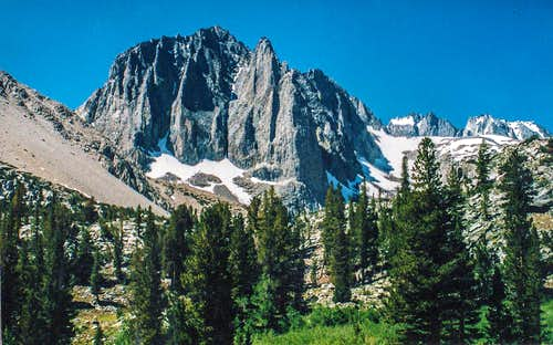 Temple Crag from Big Pine Lakes