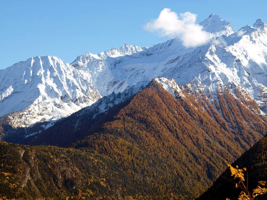 Two opposite watersheds above Nomenon Vallon 2015