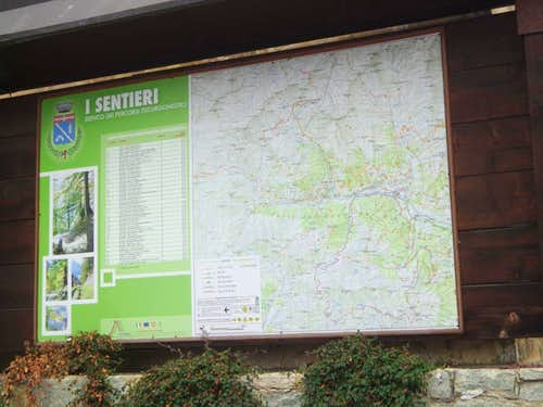 Rio Artanavaz Various trails in Gran San Bernardo 2015