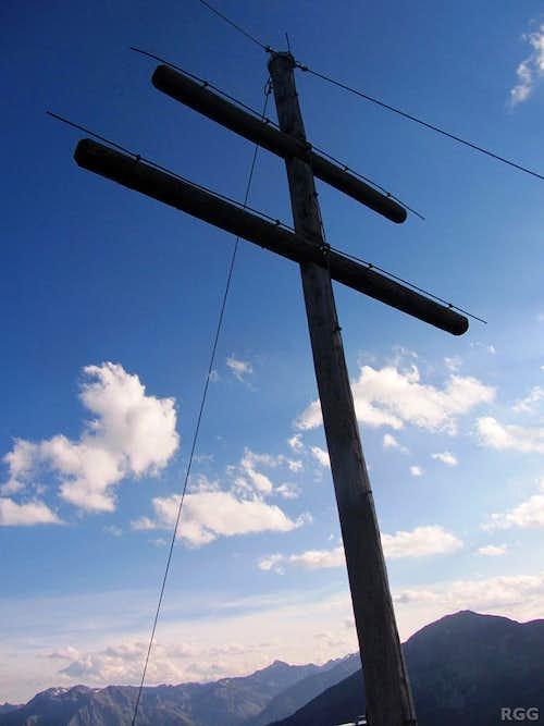Tellakopf summit 'cross'