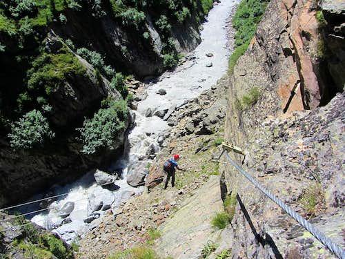Klettersteig Zirbenwald : Zirbenwald klettersteig images summitpost