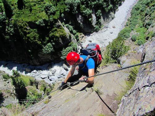 Zirbenwald Klettersteig