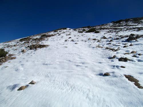 approach Freel summit