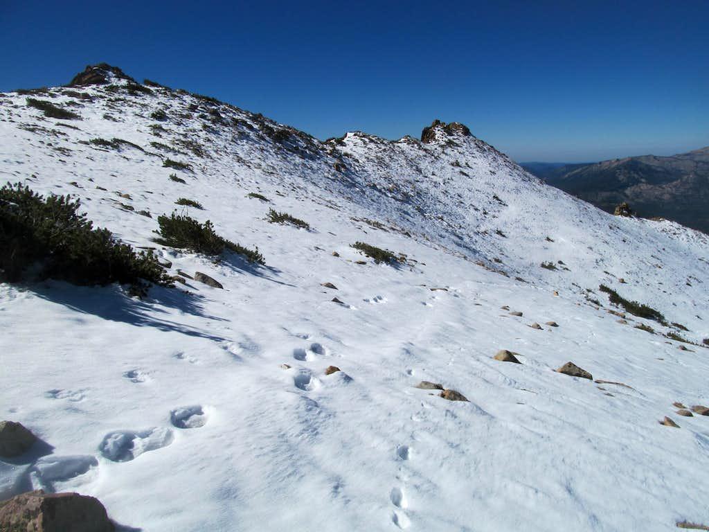 Freel west ridges