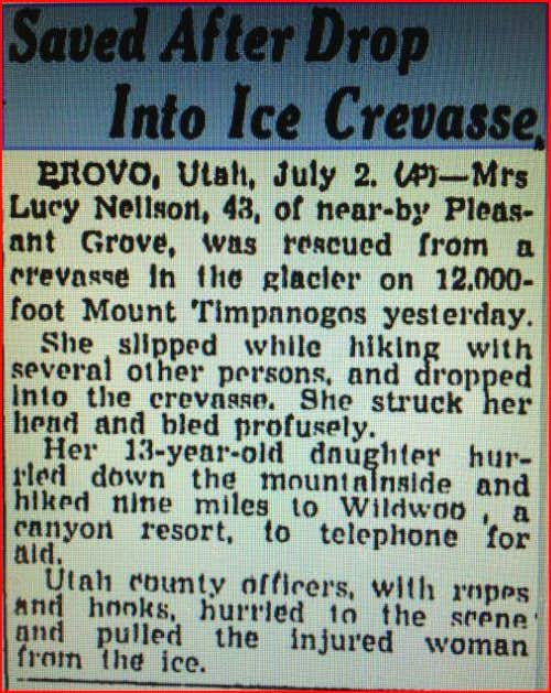 1942 Crevasse Article
