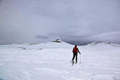 Crossing Snow Mesa