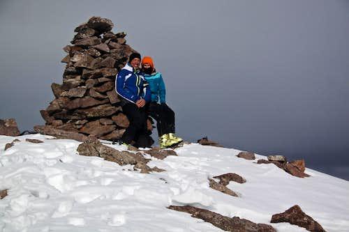 Baldy Cinco Summit
