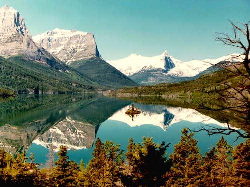 Morning Reflections on St. Marys Lake