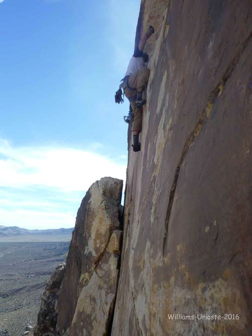 The Schwa, 5.10d, 2 Pitches