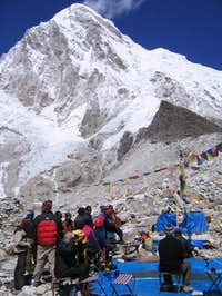 Pumori - From Base Camp -...