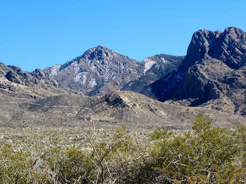West face of Organ Peak