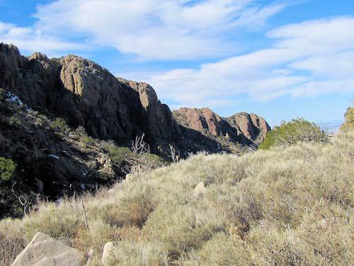 On Organ Peak Trail