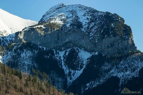 Mount Muran over Javorina