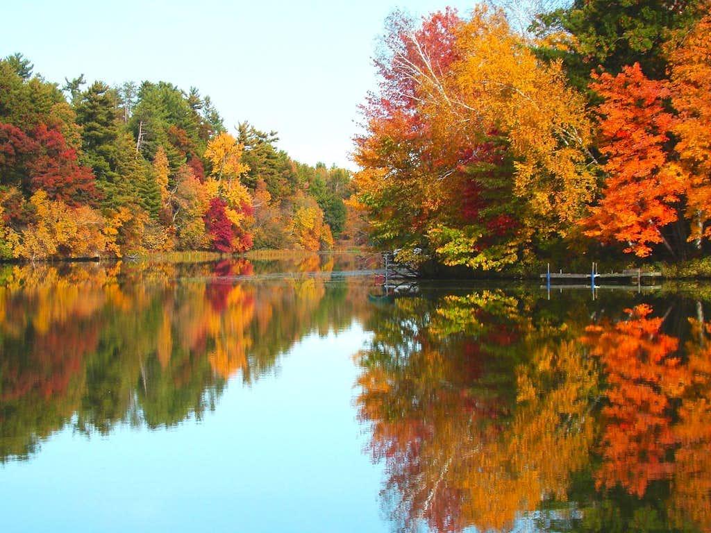 Wisconsin Autumn Morning