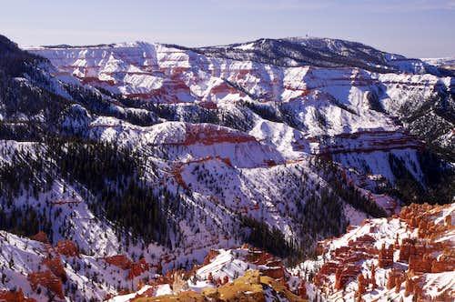 Winter in Cedar Breaks
