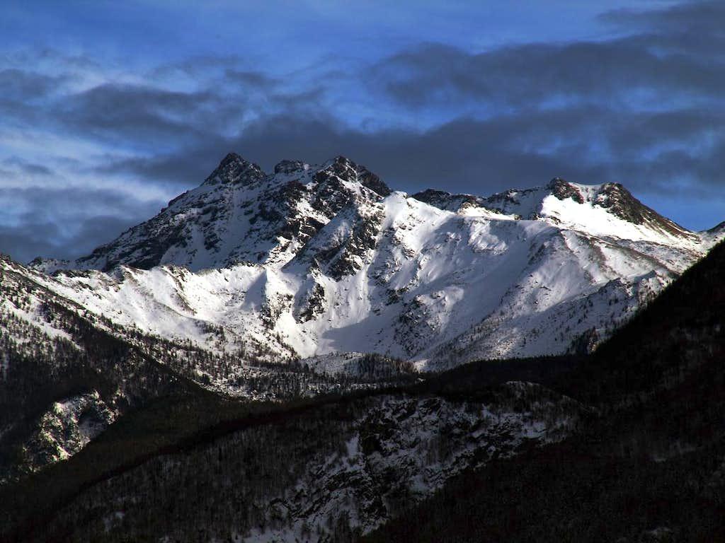 Mont Avìc & Monte Iverta above Ponton Vallon 2016