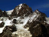 Dark Mont Blanc de Tacul above the Tour Ronde 2015